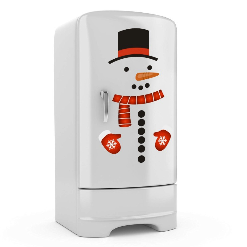 DIY Fridge Sticker Snowman supplier