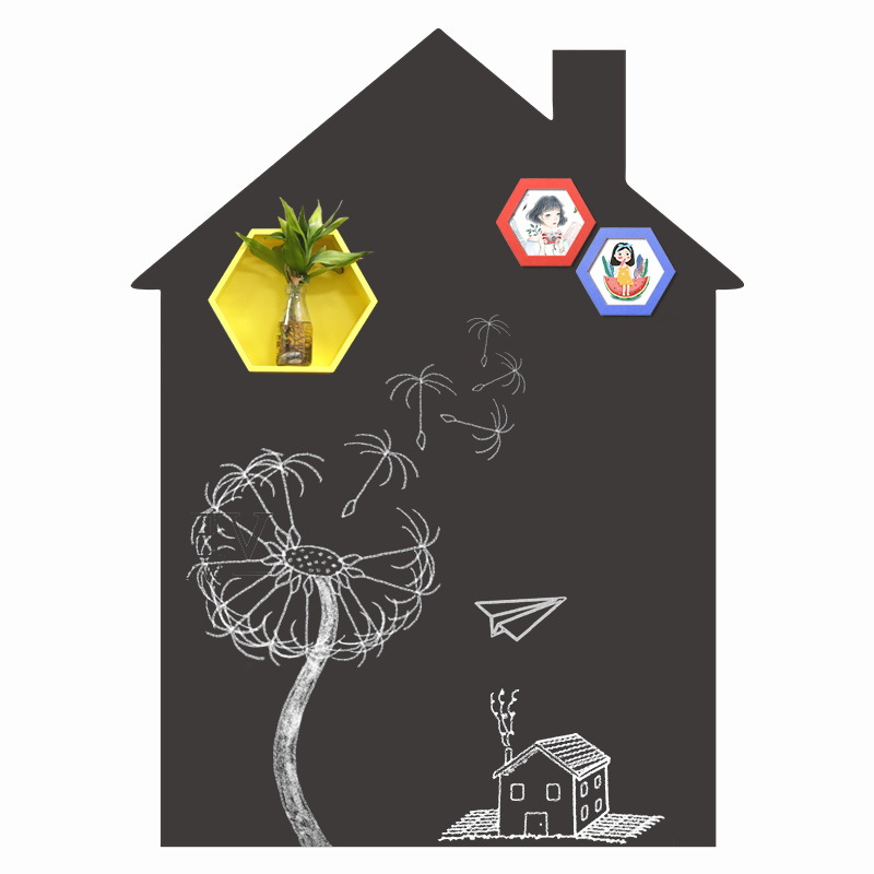 House Shape Removable Chalkboard Sticker Wholesale