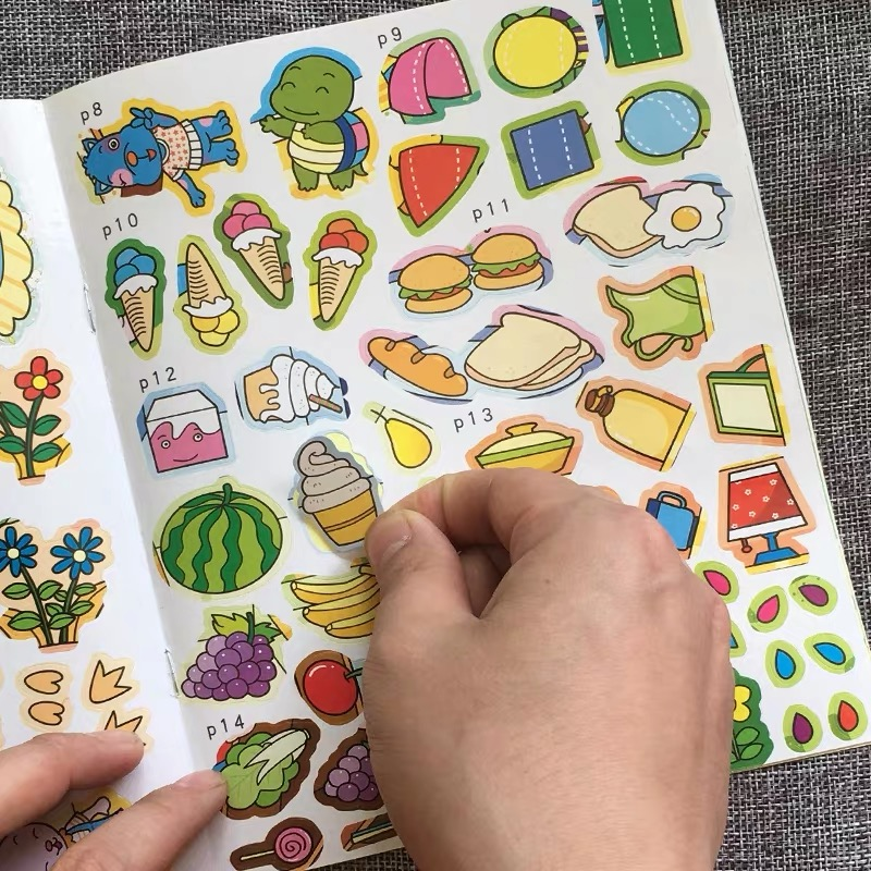 Custom Sticker Book wholesale