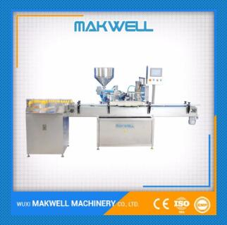 cream lotion filling machine