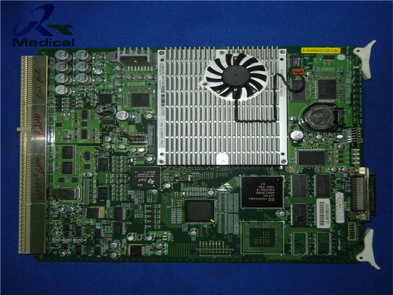 Repair GE Logiq P5 SYSCONPM board (P/N: 5177848-3)