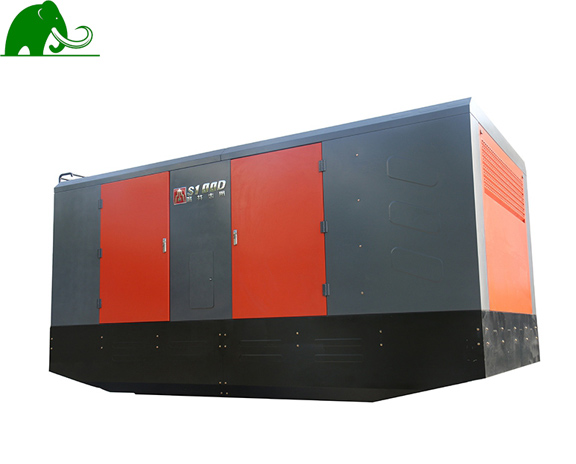Skid-Mounted Diesel Air Compressor