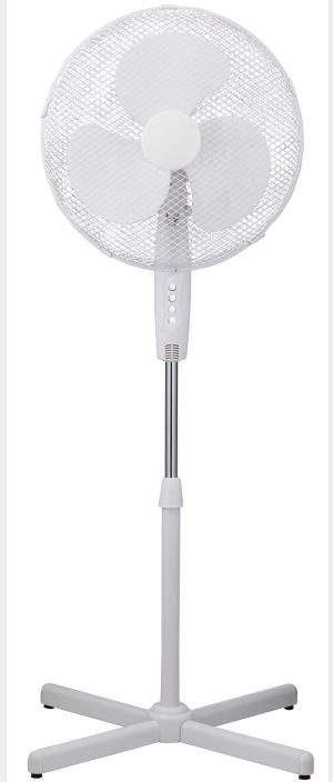 Oscillating Stand Fan with Cross Base CRYSF-16BI(M)
