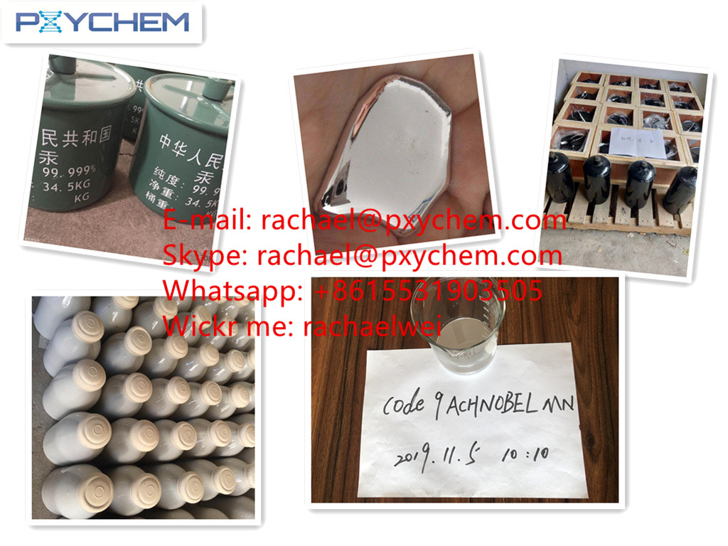 Professional supplier Selling Virgin Silver Liquid Mercury 99.999% (rachael@pxychem.com)
