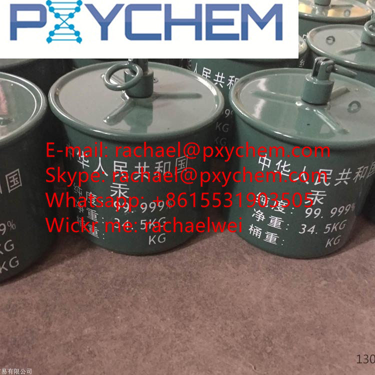 Professional supplier Selling Virgin Silver Liquid Mercury 99.999% (whatsapp:+8615531903505)
