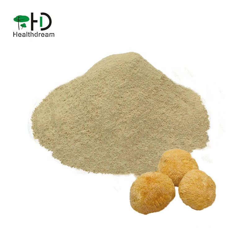 100% Pure natural Hericium Erinaceus powder Monkey Head Mushroom Powder