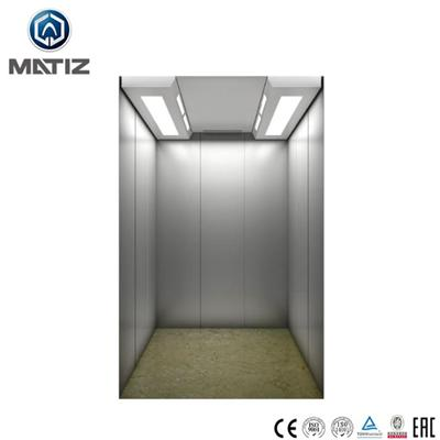 Hairline Stainless Steel Home Elevator