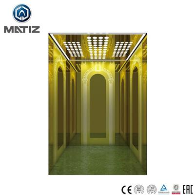Titanium Stainless Steel Home Elevator