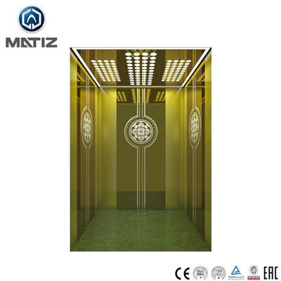 Titanium Hairline Stainless Steel Home Elevator