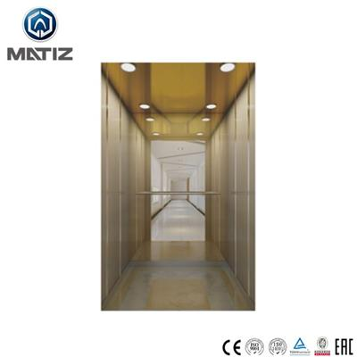 Wooden Stainless Steel Home Elevator