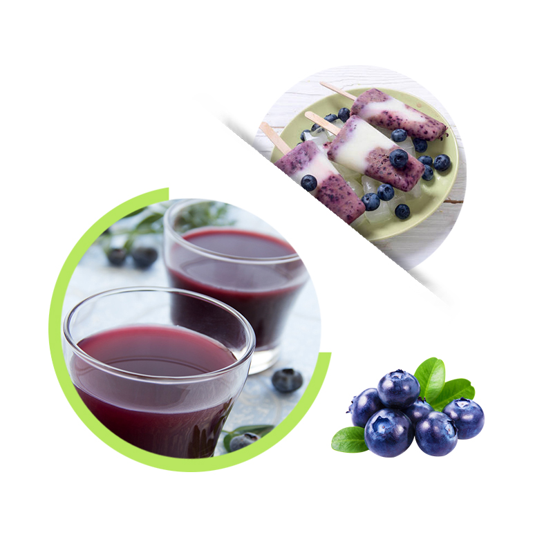 Cultivated Blueberry Juice Concentrate, 65Brix fresh Blueberry Juice, fruit juice