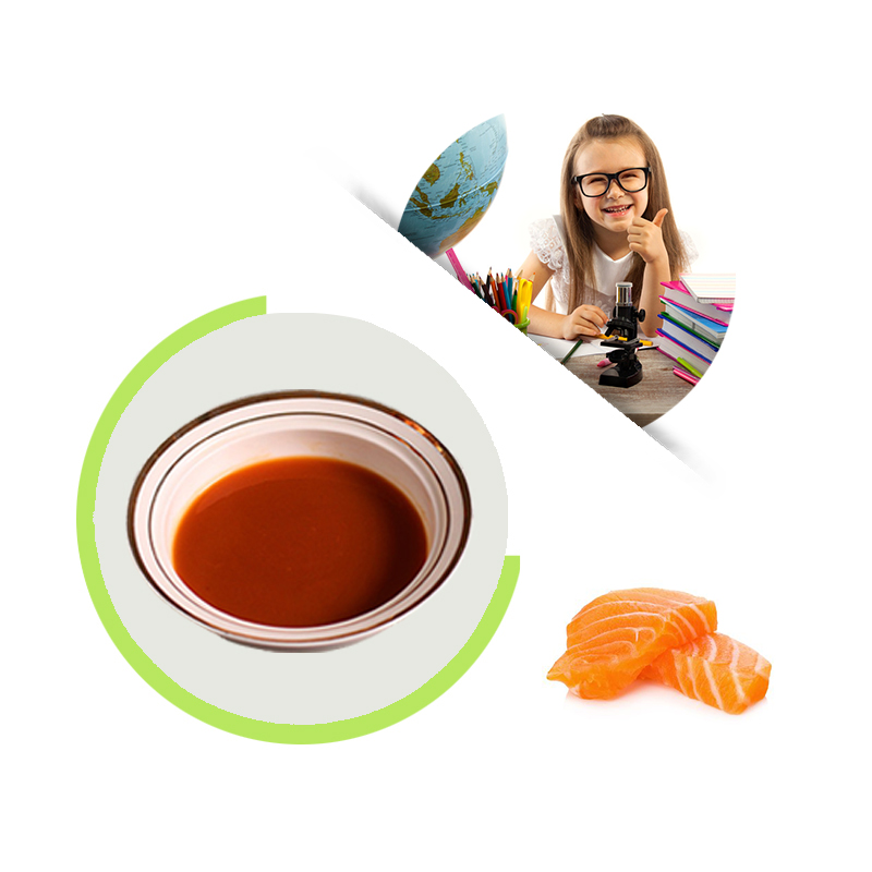 Natural sea fish concentrate juice, salmon concentrate juice for puffed food