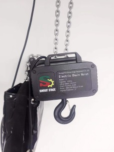 380v 220v 1 ton 2 ton aluminum electric chain hoist