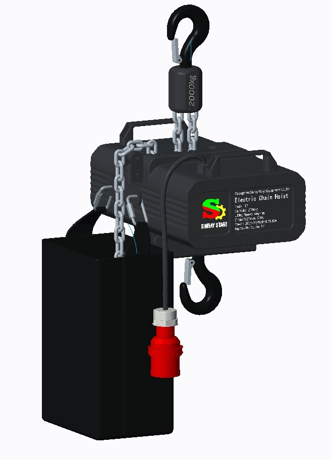 220V/50Hz Mini Stage Hoist electric chain hoist