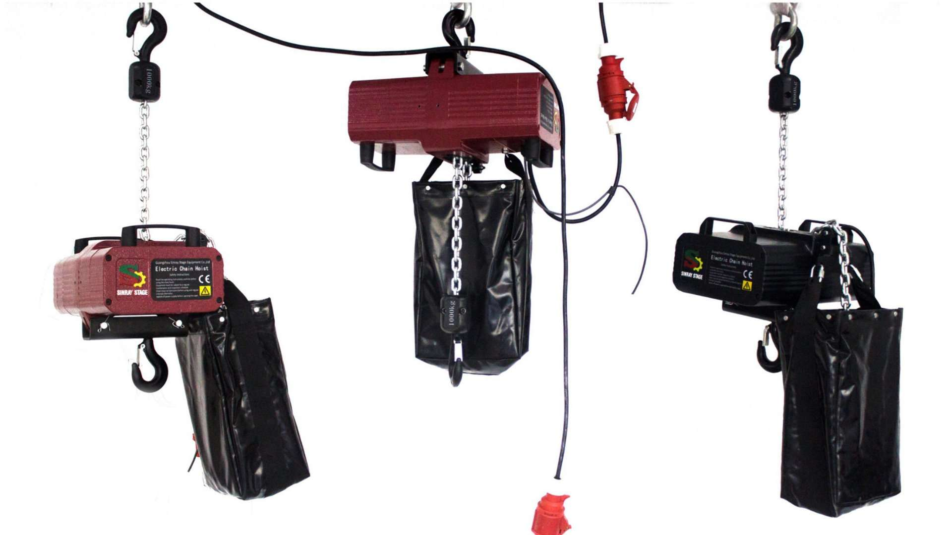 1000kg stage light hoist swing electric chain hoist hot sale