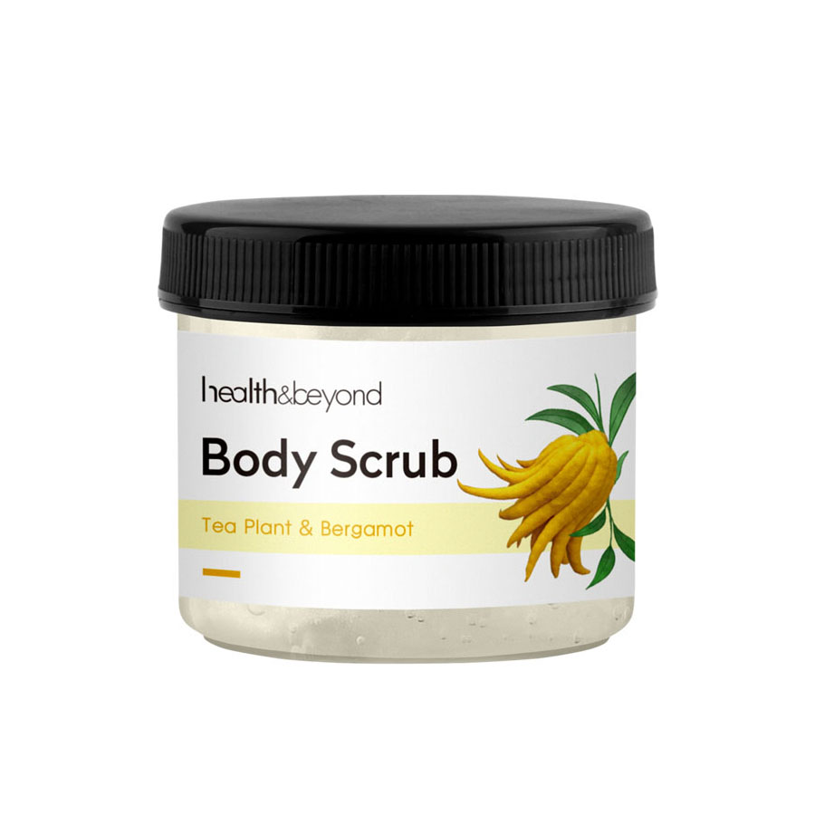 250g OEM private label exfoliating body scrub cream