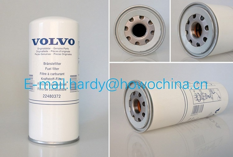 High Quality Duty Truck Parts Fuel Filter 22480372 For Volve Diesel Engine