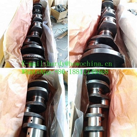 Howo heavy truck Weichai engine spare parts crankshaft