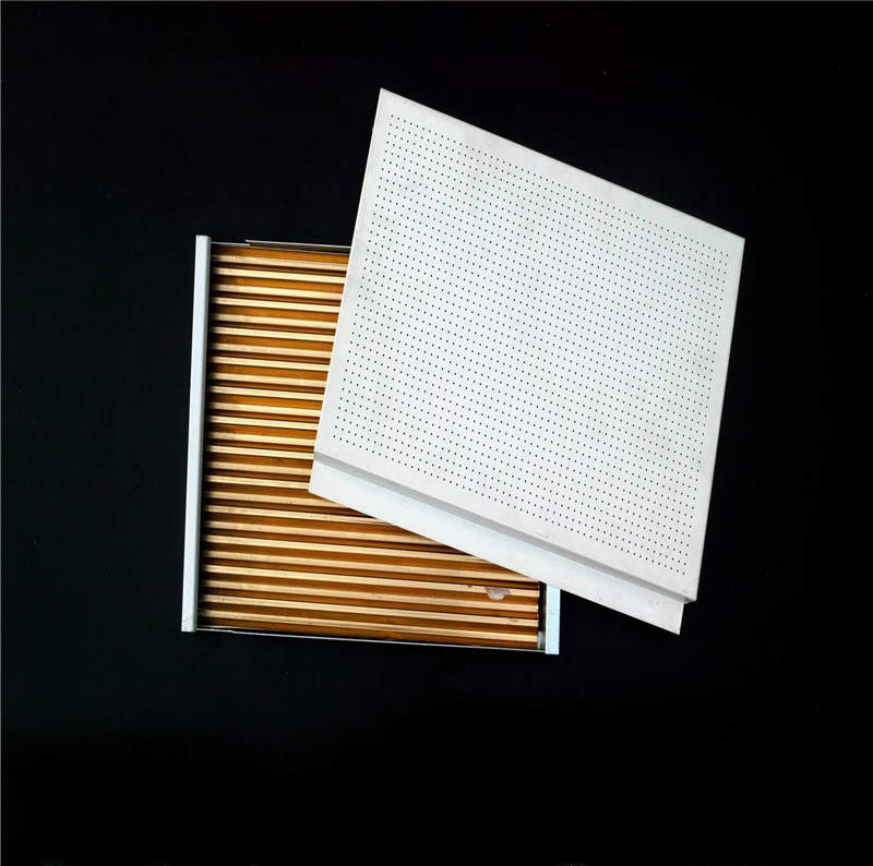 Enviromental with High Quality Aluminum Metal Decorative Material Corrugated Ceiling Panel