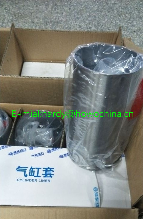 WEICHAI WD615 Engine Cylinder liner  for SINOTRUK HOWO spare parts