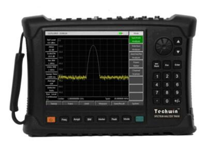 Techwin Portable Spectrum Analyzer TW4950 for Field Test and Diagnosis