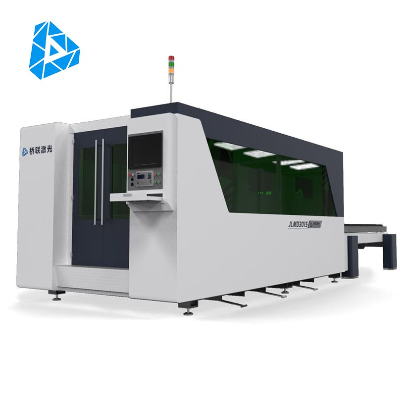 Fully Enclosed Exchange Worktable Fiber Laser Cutting Machine