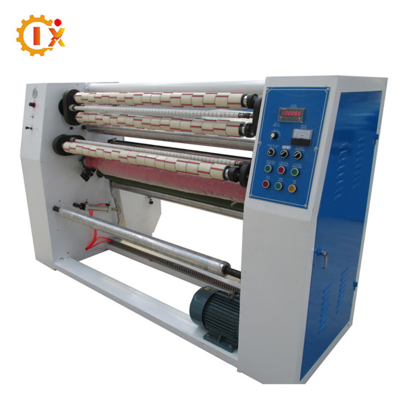 GL-215 Professional factory price of skotch cello tape slitting machine