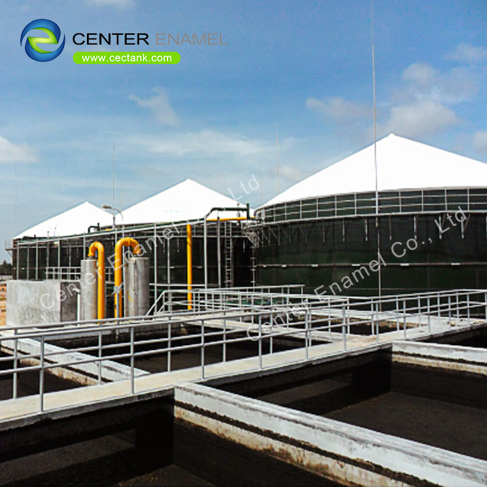 Glass lined steel Wastewater Treatment Tanks