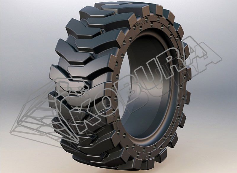 Skid Loader Solid Tires-801H