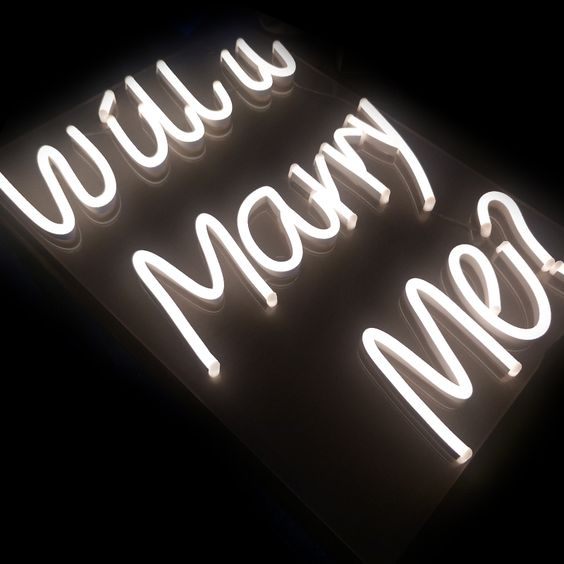 Waterproof Custom Neon Light Acrylic Letters Led Opti Neon Sign For Advertising