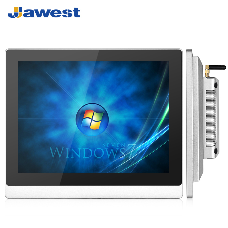 12 Windows CE based Flat Panel PC With RFID