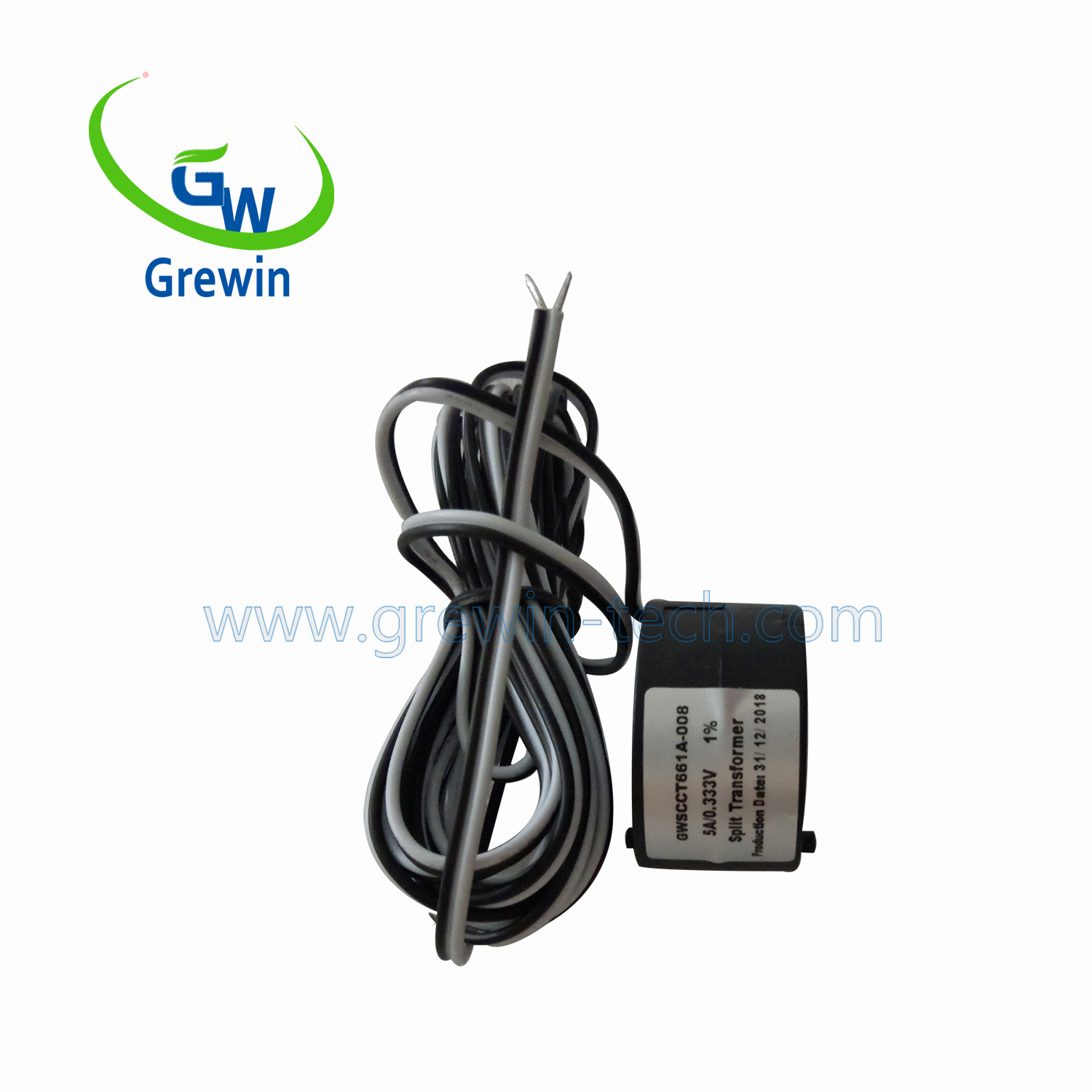 GWSCCT661Rated Input 0.5-630A Output 0-500mA/0.333V split core toroidal current transformer for Current measurement