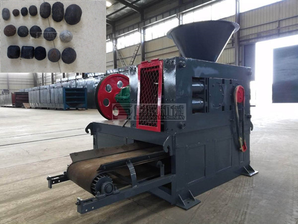 Charcoal Fines Roller Press Machine