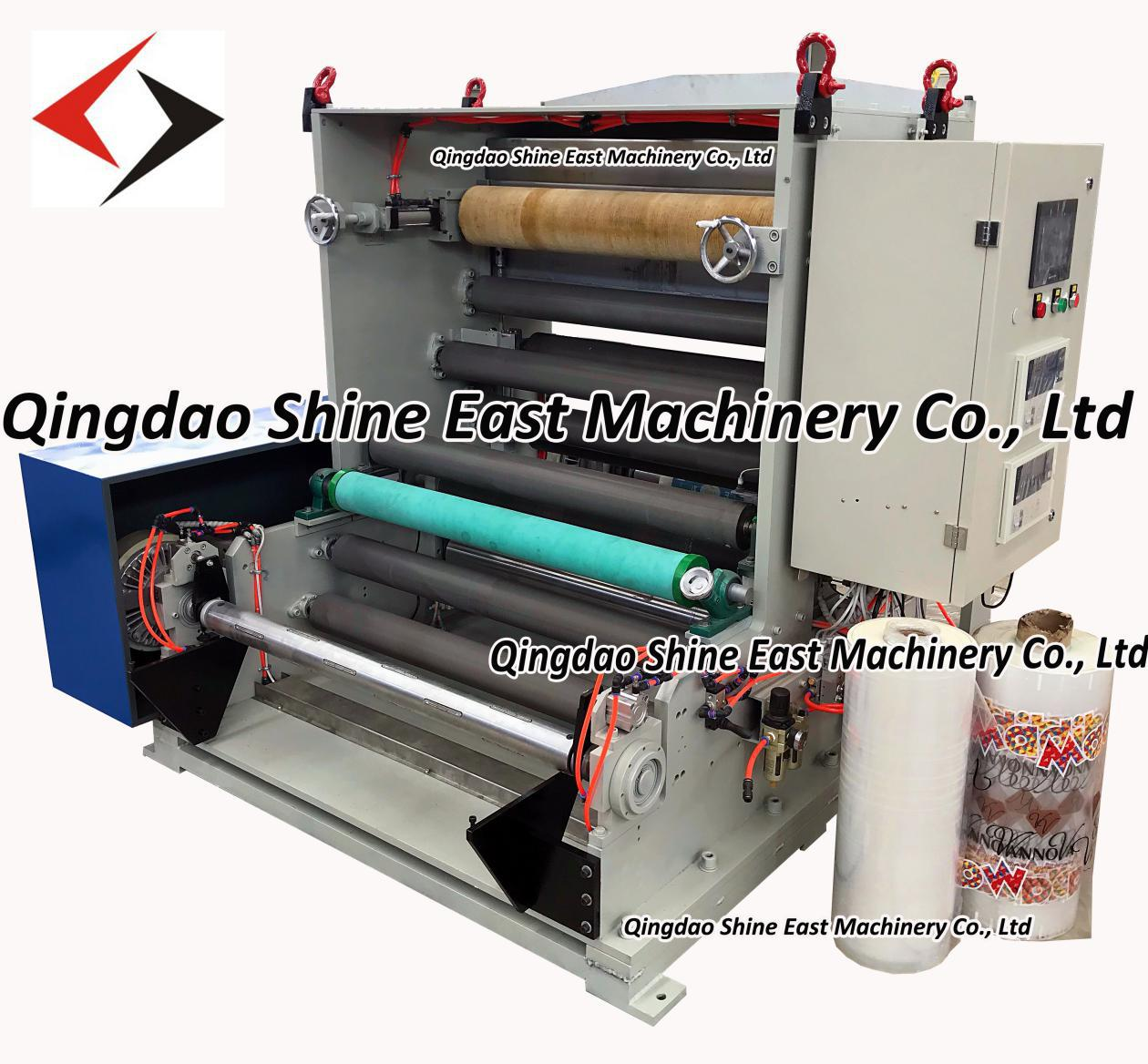 Hot needle perforator for plastic film, non woven