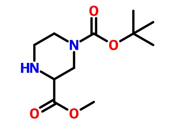 Methyl 4-Boc-Piperazine-2-Carboxylate  cas 129799-08-2
