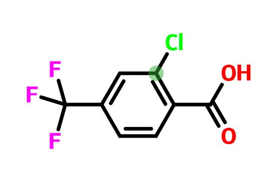 2-chloro-4-(trifluoromethyl)benzoic acid CAS 23228-45-7