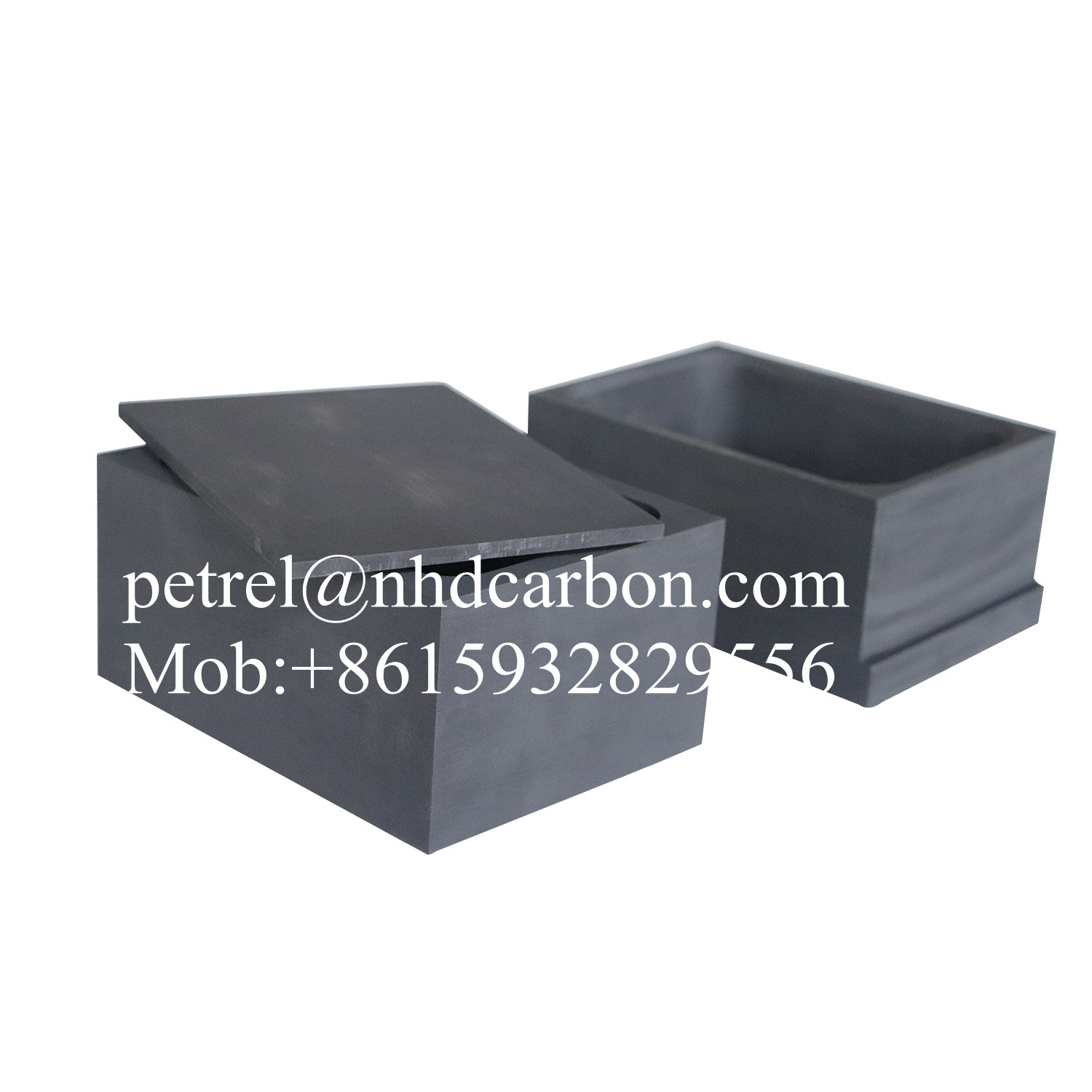 Graphite sintered box