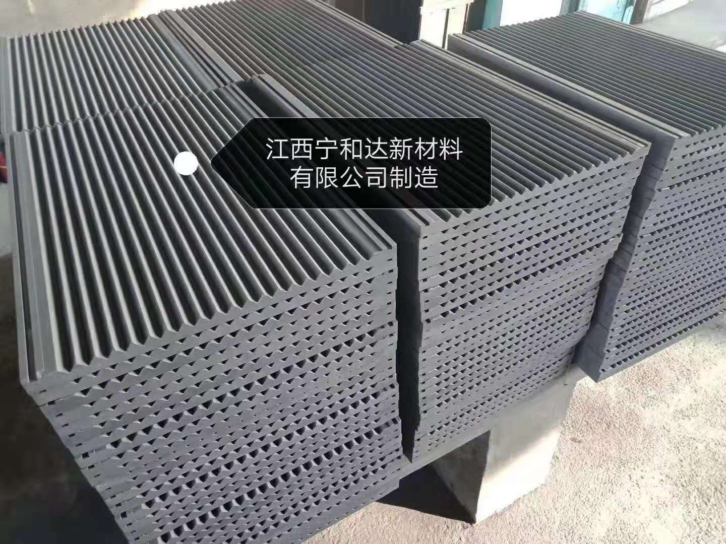 Graphite sheet for composite powder tungsten carbide