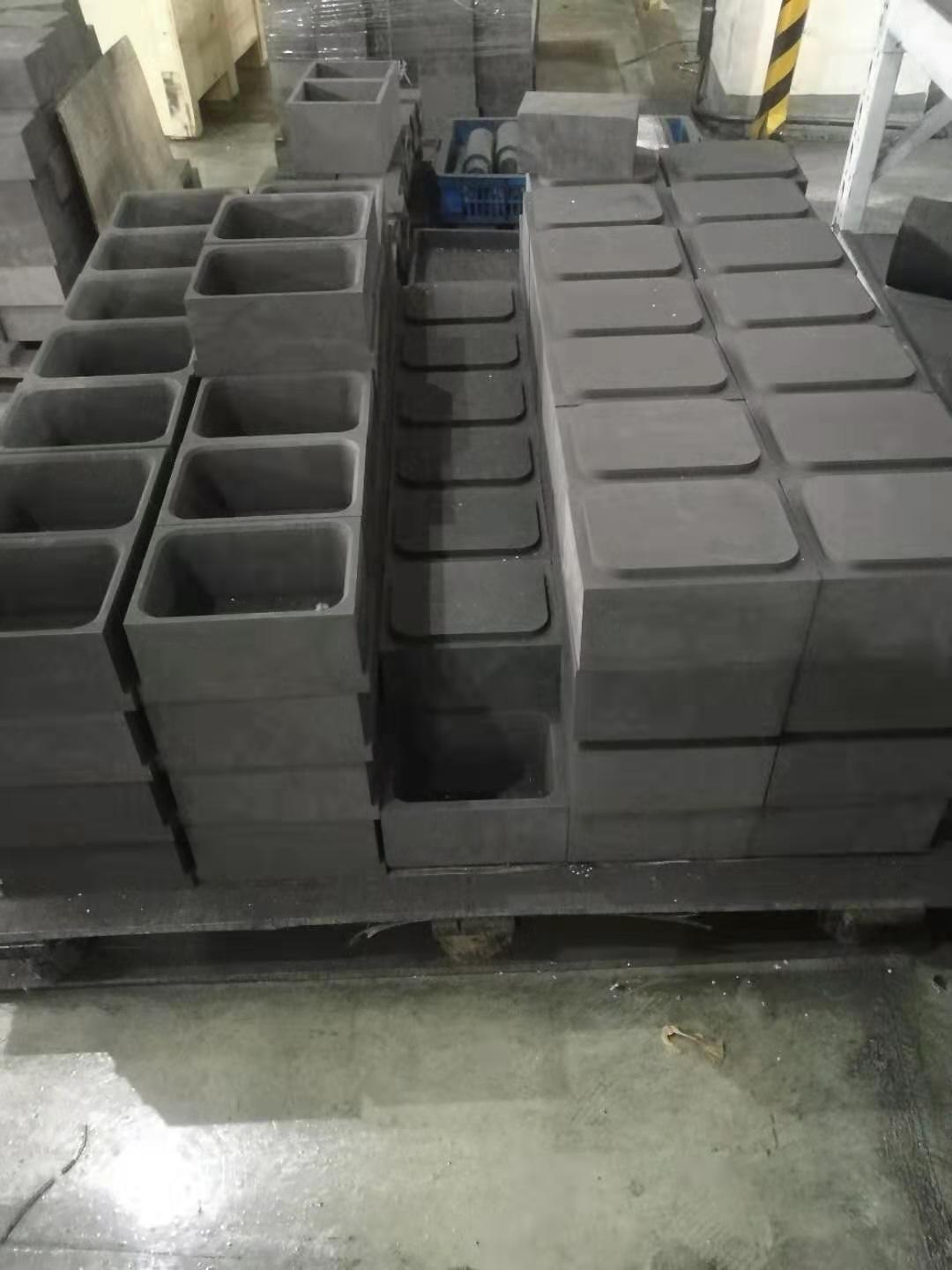 Graphite boat for sintered of NdFeb Magnet