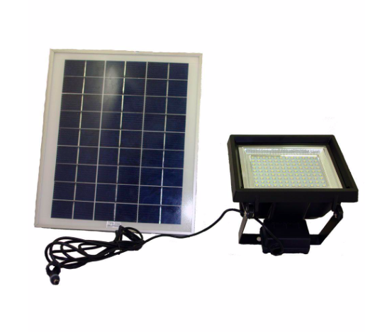 Solar home flood light