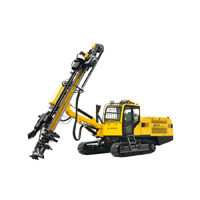 simpler operation JK810 All In One Hydraulic DTH Drilling Rig