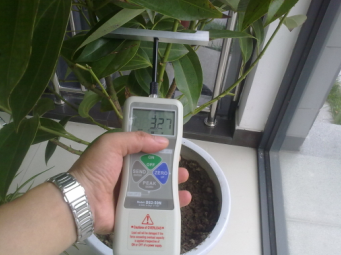 QT-DFA Portable plant stem strength tester
