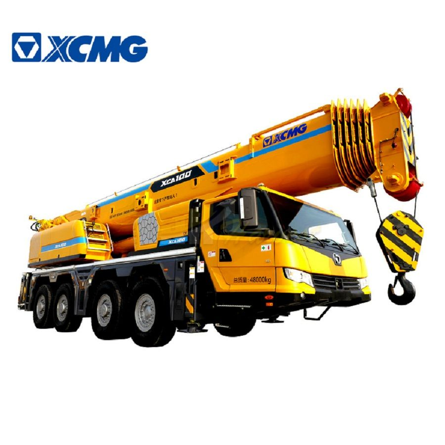 XCMG 100 ton XCA100 mobile truck all terrain crane best price for sale