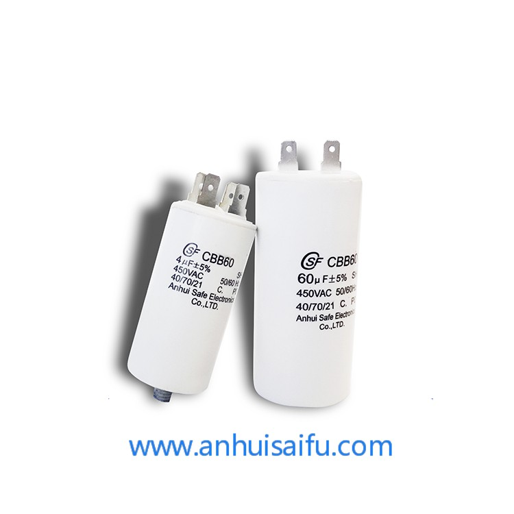 CBB60 motor run capacitors 20uf 25uf