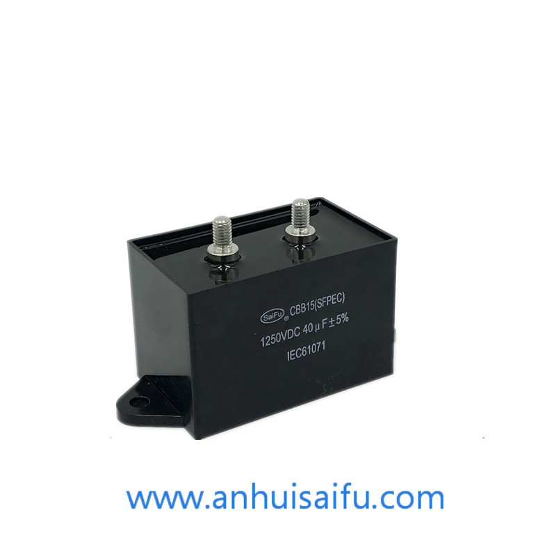 1250vdc 40uf CBB15 CBB16 Welding Inverter DC Filter Capacitor