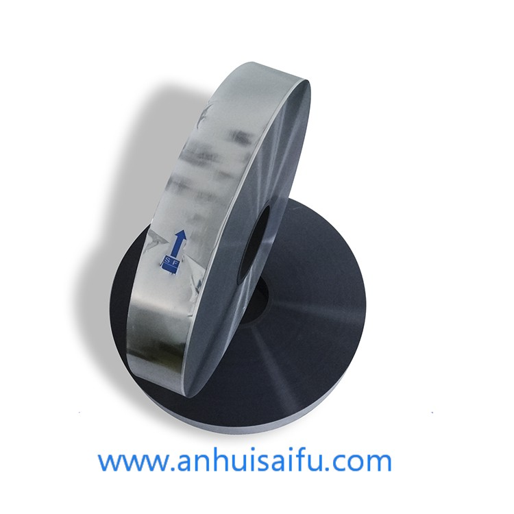 2.2~15um*100mm*2.5mm metallized film for capacitor