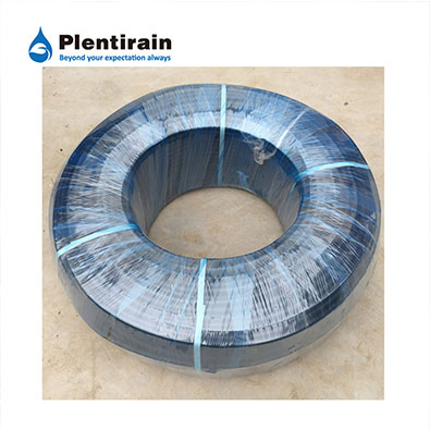 Dripline with cylindrical dripper  Drip Tape manufacturer  Drip tape with flat dripper