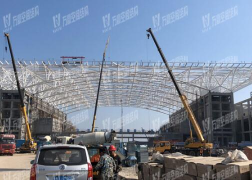 Tensile Fabric Roof Flexible Permanent Stadium Steel Structure Shed Ptfe Tensile Membrane Tent