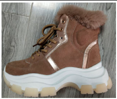 Women Leather Sneaker Boots