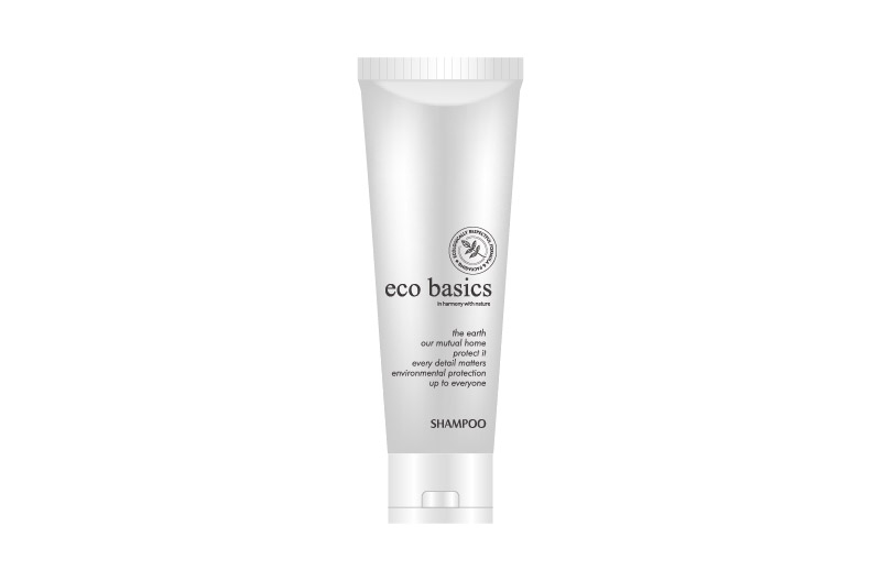 Modern Brand PCR ECO BASICS Hotel Amenities Tubes